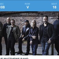 Concert Tickets——Dave Matthews Band Thumbnail