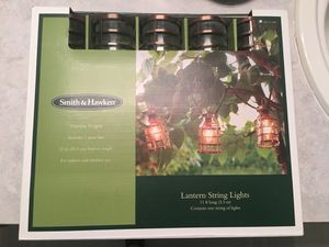 Smith & Hawken Lantern String Lights for Sale in Lake Stevens, WA