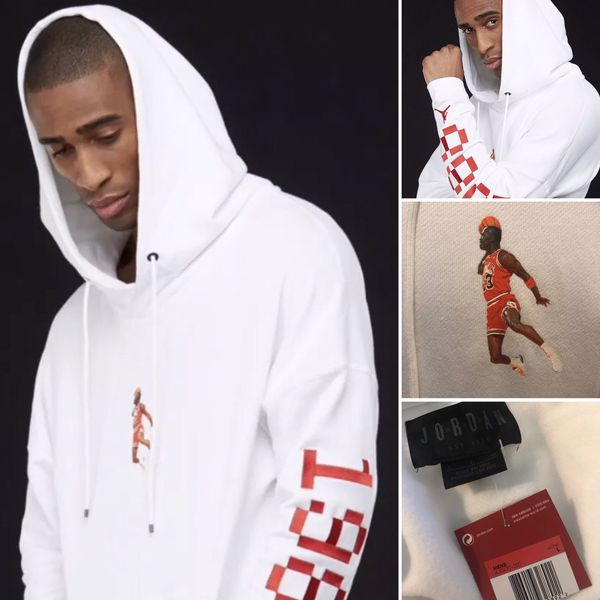 7e0f28c86131d5 Michael Jordan Wings Lite 1988 Jumpman Embroidered Fleece Hoodie (Sold out  online)