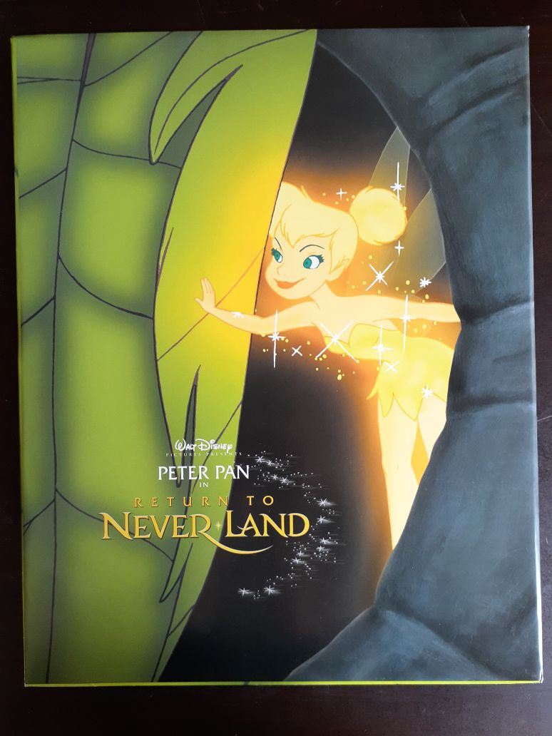 Peter Pan in return to Neverland Walt Disney Pictures 2002 exclusive Commemorative 11x14 Lithograph