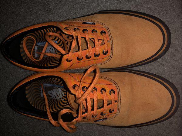 efbe540c2c82b2 Vans x Spitfire Era Pro Cardiel   Orange Skate Shoes Size 11 for ...