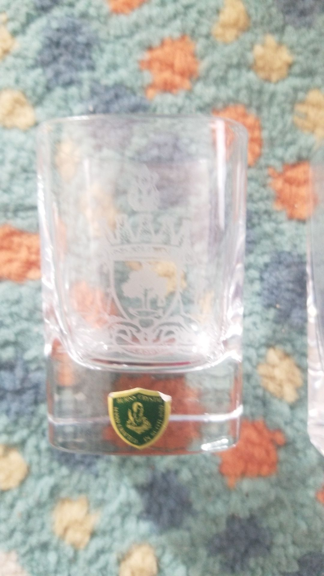 Burns crystal nightcap set made in Scotland