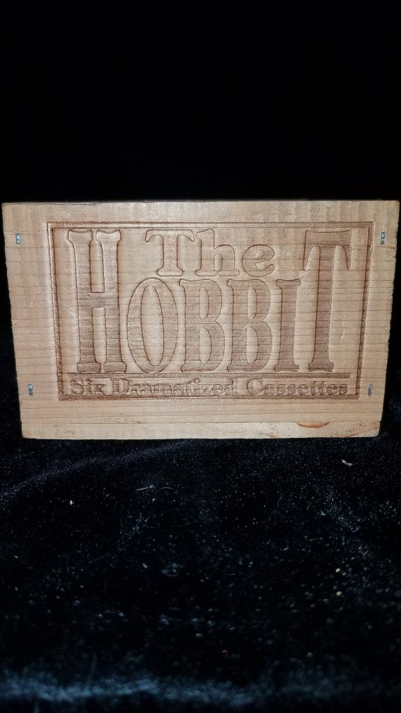 The Hobbit 6 cassette collection