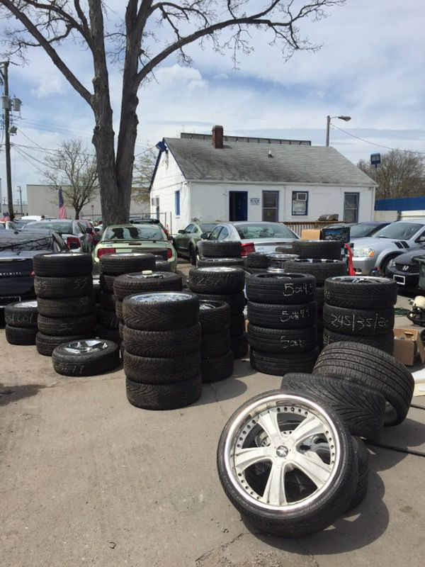 I buy used wheels and tires \