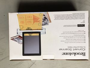 **New** Brookstone iconvert scanner for iPad and ipad2 for Sale in Ashburn, VA