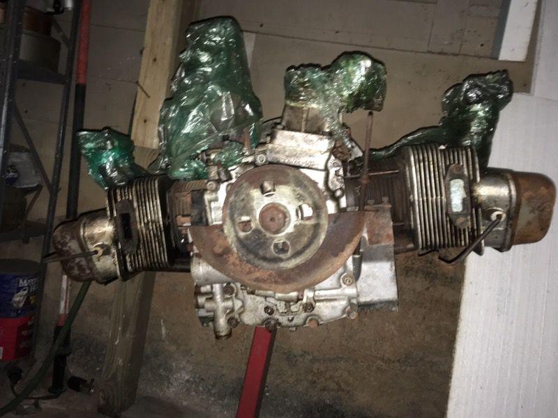 1959 porche 356 rebuilt engine.