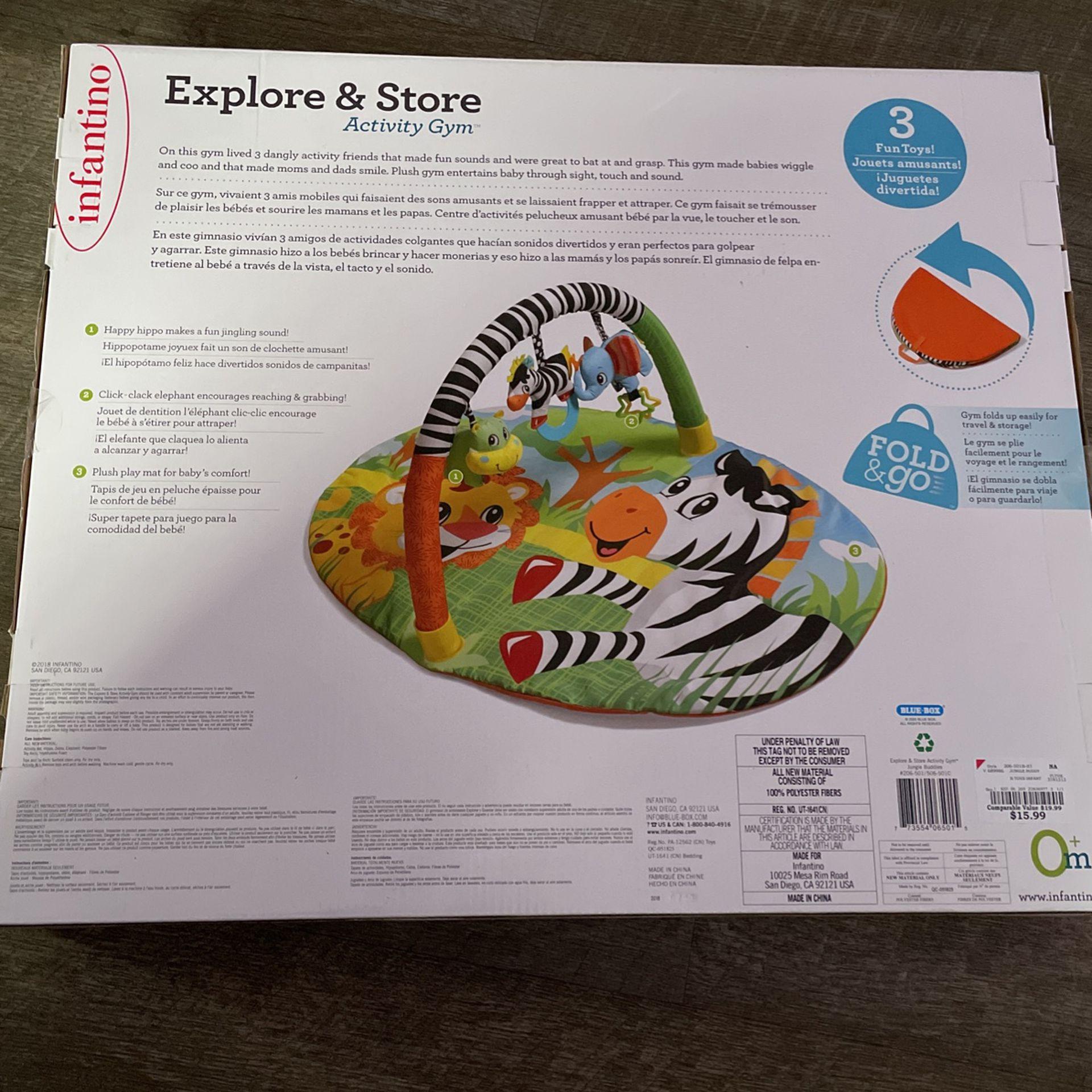 Infantino Explore & Store Activity Gym