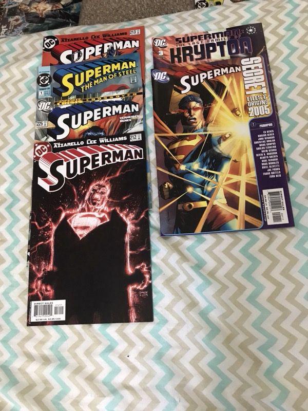 Superman, fantastic four, and Forever Evil