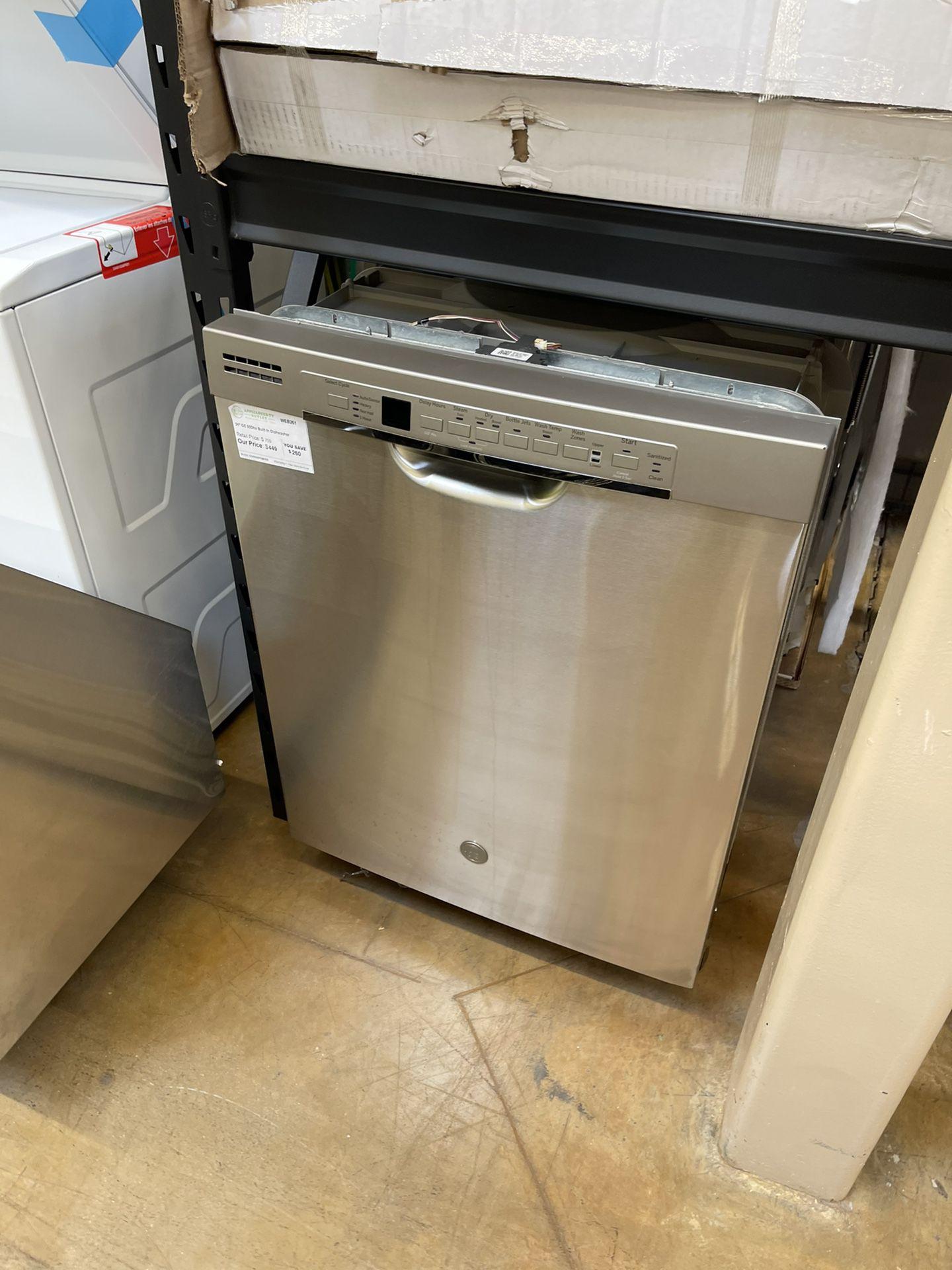 """GE 24"""" Dishwasher Stainless"""