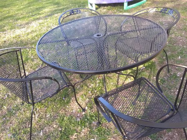 Wrought Iron Patio Furniture For Sale In Shiloh Il Offerup