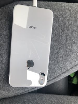 iPhone X 256 gb factory unlocked phone is by T-Mobile brand new condition no box comes with charger $600firm NO LOWER for Sale in Washington, DC