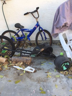 Boys bike and green machine for Sale in Oceanside e971b313f
