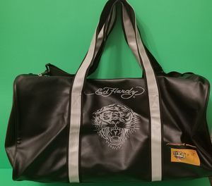 Photo Ed Hardy Unisex Adult's Travel Duffle Bag One Size Black