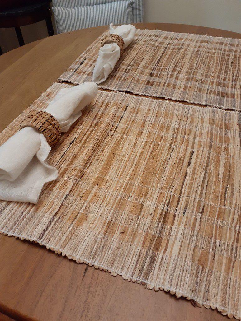 Bamboo 2 Set Placemats