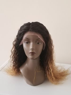 "20"" Brazilian human hair deepwave + 18 lace frontal for Sale in Washington, DC"