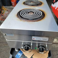 Commercial Electric Hot Plate Stove.  Thumbnail