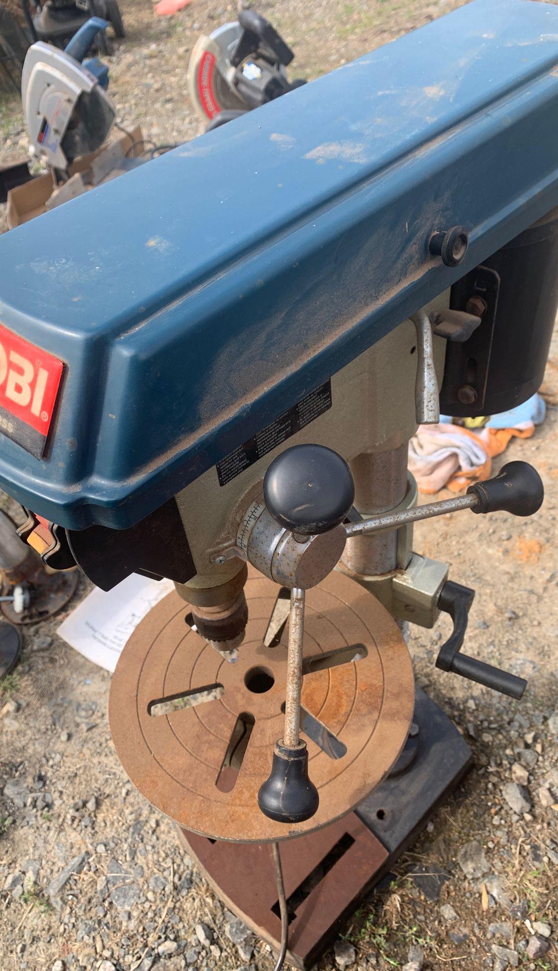 """Ryobi 12"""" drill press"""