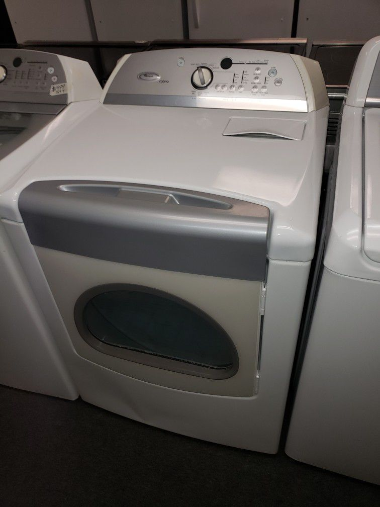 Whirlpool Electric Top Load Set Washer And Dryer In Great Condition