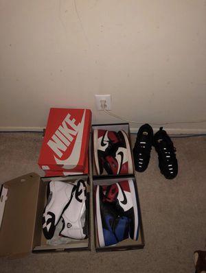 Jordan and Nike for sale for Sale in Falls Church, VA