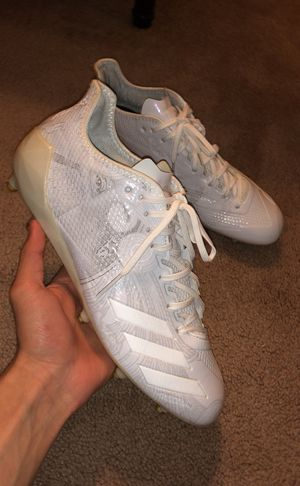 Adidas Adizero 5-star 6.0 cleats SIZE 10 for Sale in Gaithersburg, MD