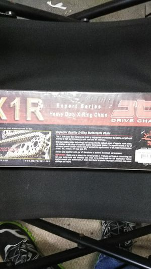 JT Racing X-ring motorcycle chain 525x120 for Sale in Tampa, FL