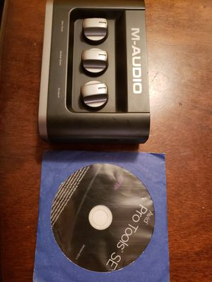 M-Audio Fast track - audio interface for Sale in Los Angeles, CA