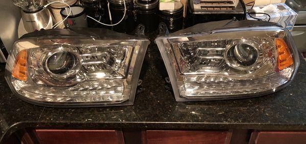 2009-2018 4th Gen Ram Projection Headlights for Sale in Austell, GA -  OfferUp