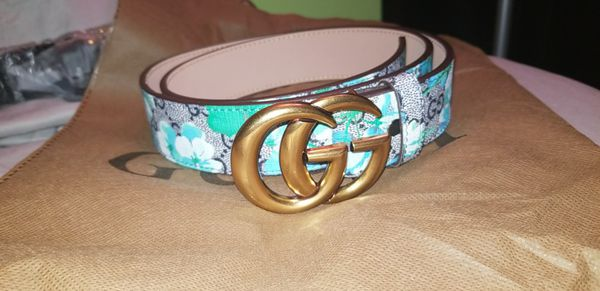 b18a5ff94c1 Floral Gucci Belt Size 29-32 for Sale in Day Heights