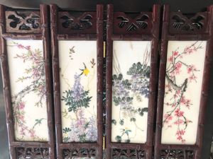 Chinese porcelain home screen for Sale in Newport Beach, CA