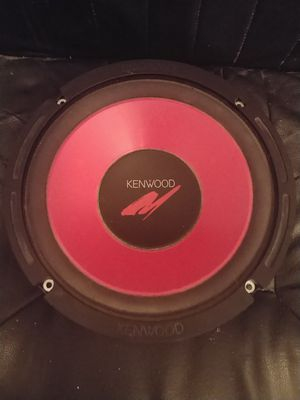 "10"" Kenwood Car Audio Sub for Sale in Annandale, VA"