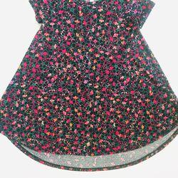 Lularoe Super Flare Dress- Girls sz 6 Thumbnail