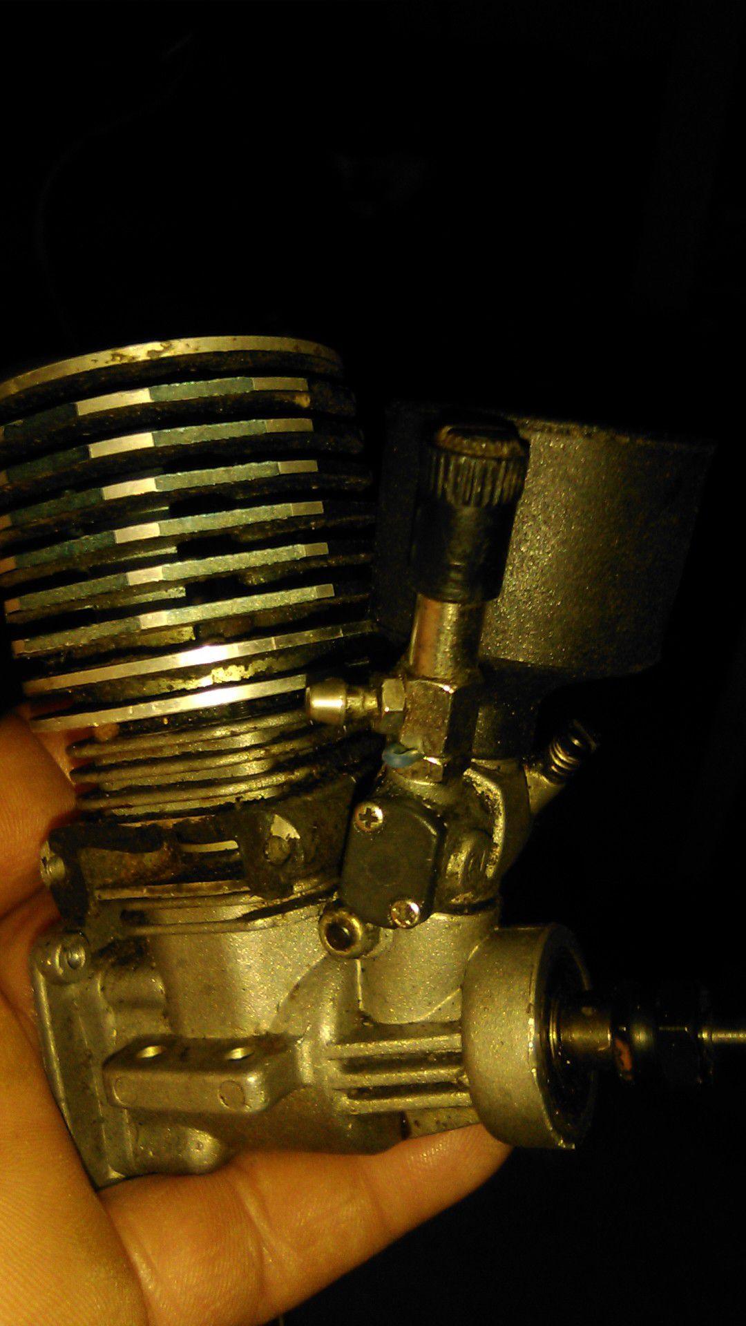 Gas control car transmission