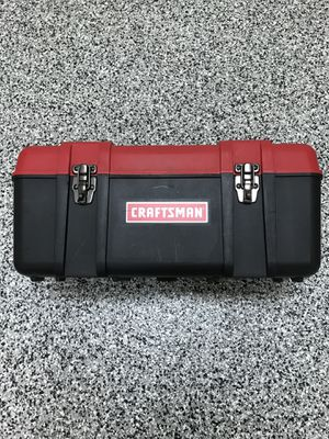 Craftsman Tool Box with Lid Compartments for Sale in Severn, MD