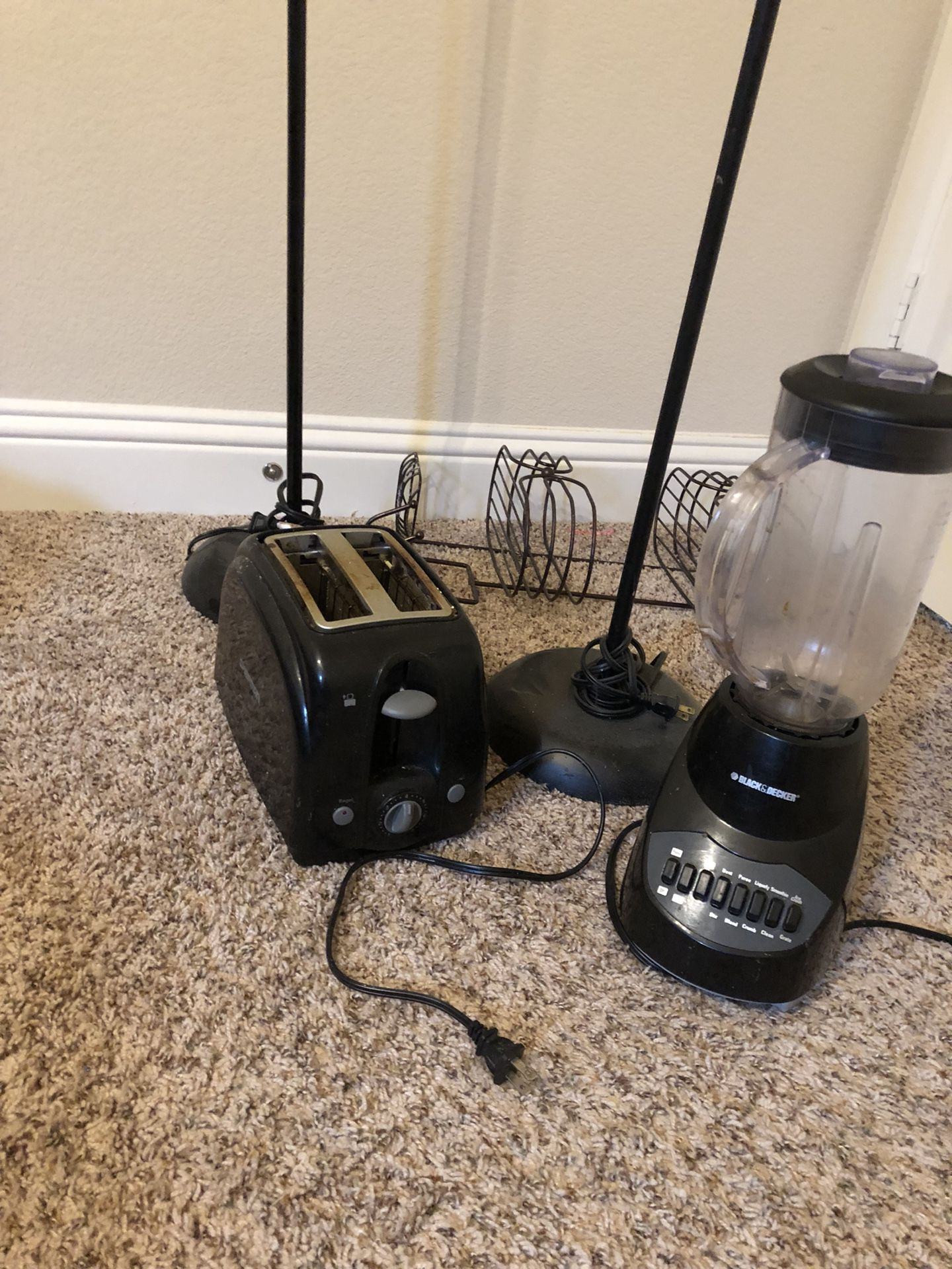 Toaster and juicer