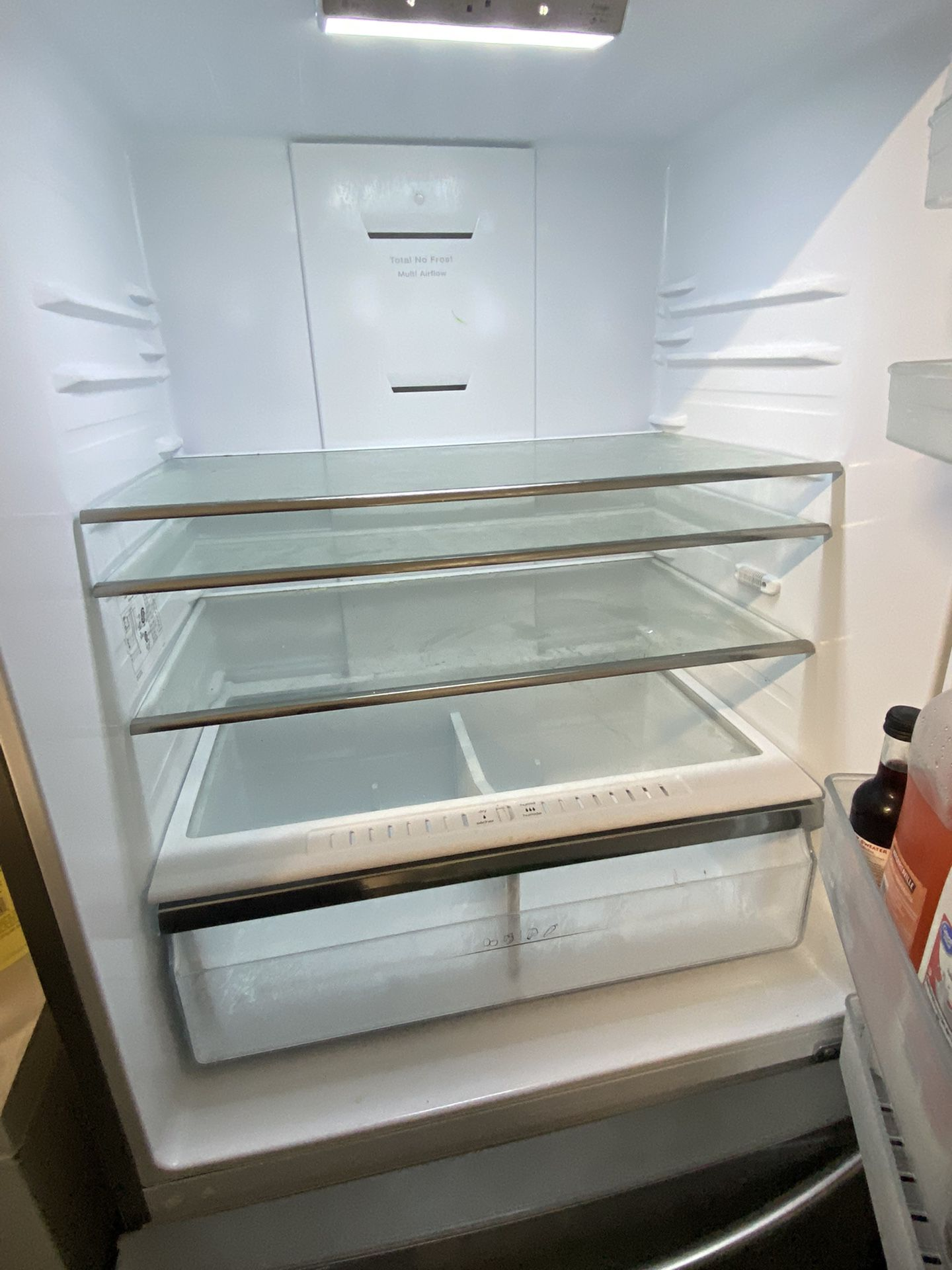 New Stainless Stell Fridge Works Perfect