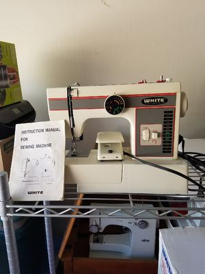 Sewing Machines For Sale In Arizona OfferUp Cool White Sewing Machine 1477