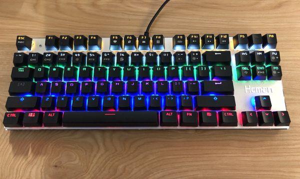 aa399557c14 Hcman mechanical keyboard for Sale in Seattle, WA - OfferUp