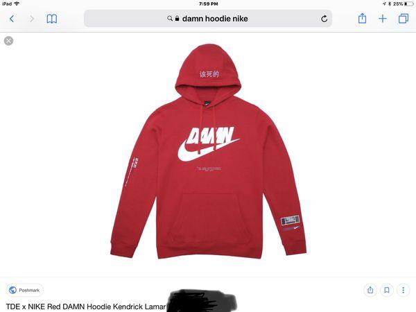 pretty nice fa3e1 b5ab7 Nike Damn Hoodie Kendrick Lamar size M for Sale in Arcadia, CA - OfferUp