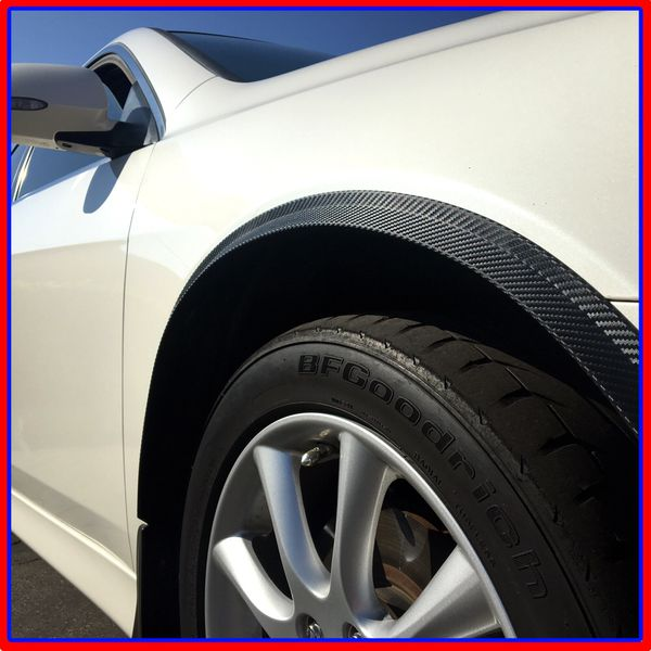 Universal All Cover Fender Flare Wheel Wall 3m Carbon