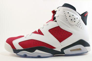 "Air Jordan 6 VI ""Carmine"" Size 10 DS Thumbnail"