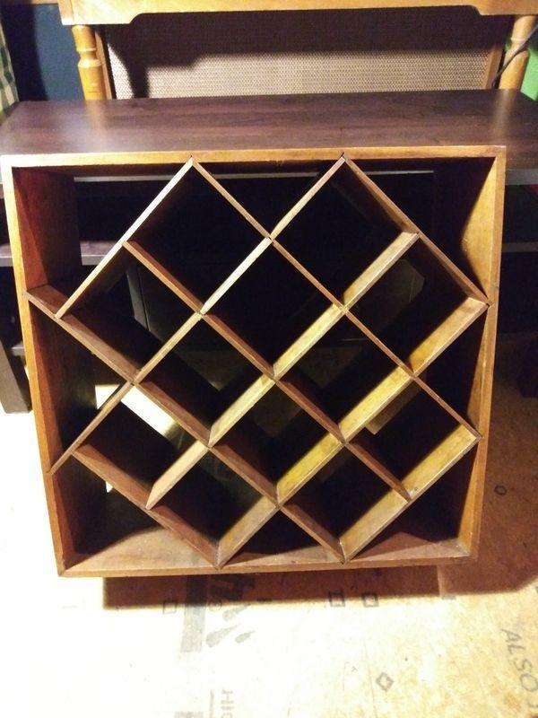 Wooden Wine Rack For Sale In Lexington Ky Offerup