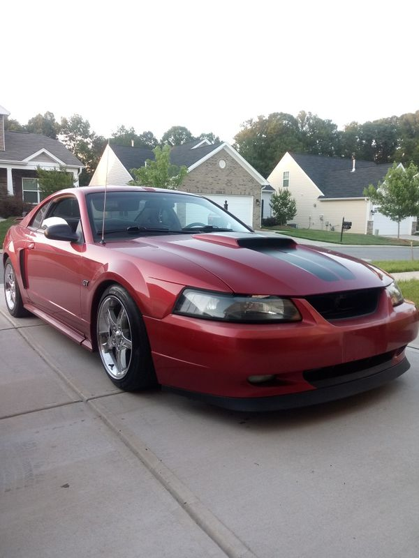 mustang lowered gt 2001 offerup nc
