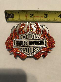 Harley Davidson Belt Buckle Thumbnail
