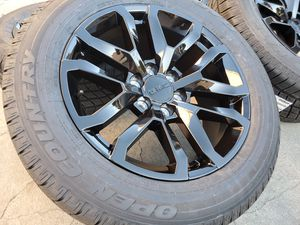Photo 20 GMC Yukon Wheels w/TPMS SENSORS Denali Sierra Escalade Tires Rims