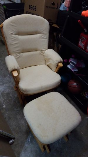 Rocking Chair with Ottoman Slider for Sale in MONTGOMRY VLG, MD