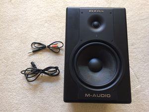 M-audio bx8a deluxe single speaker for Sale in Rockville, MD