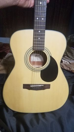 Cort A F 550 acoustic guitar with case in great condition for Sale in Saint Cloud, FL