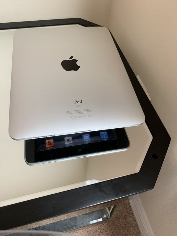Apple IPad 1st Generation - 32GB No Webcam No SIM card Battery life last  all day  Comes USB charging cable, wall charger  New clean operating for  Sale