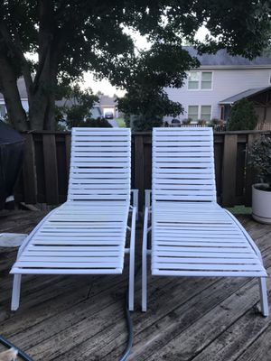 Pool chairs for Sale in Frederick, MD