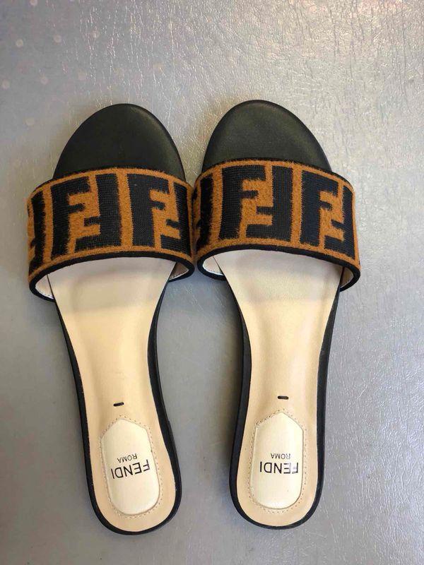 41cceea7b2fa FENDI SANDALS SLIDES FLIP FLOPS SHOES for Sale in Sanford